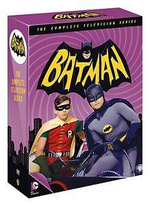 BATMAN COMPLETE ORIGINAL TV SERIES COLLECTION DVD BOX SET 18 DISCS R4 NEW&SEALED