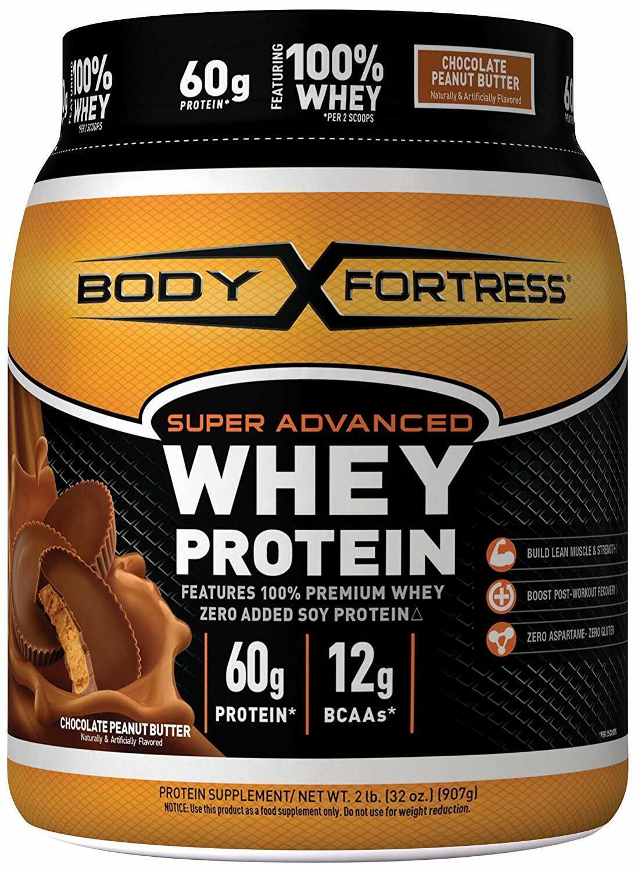 Body Fortress Super Advanced Whey Protein Powder W/ Creatine