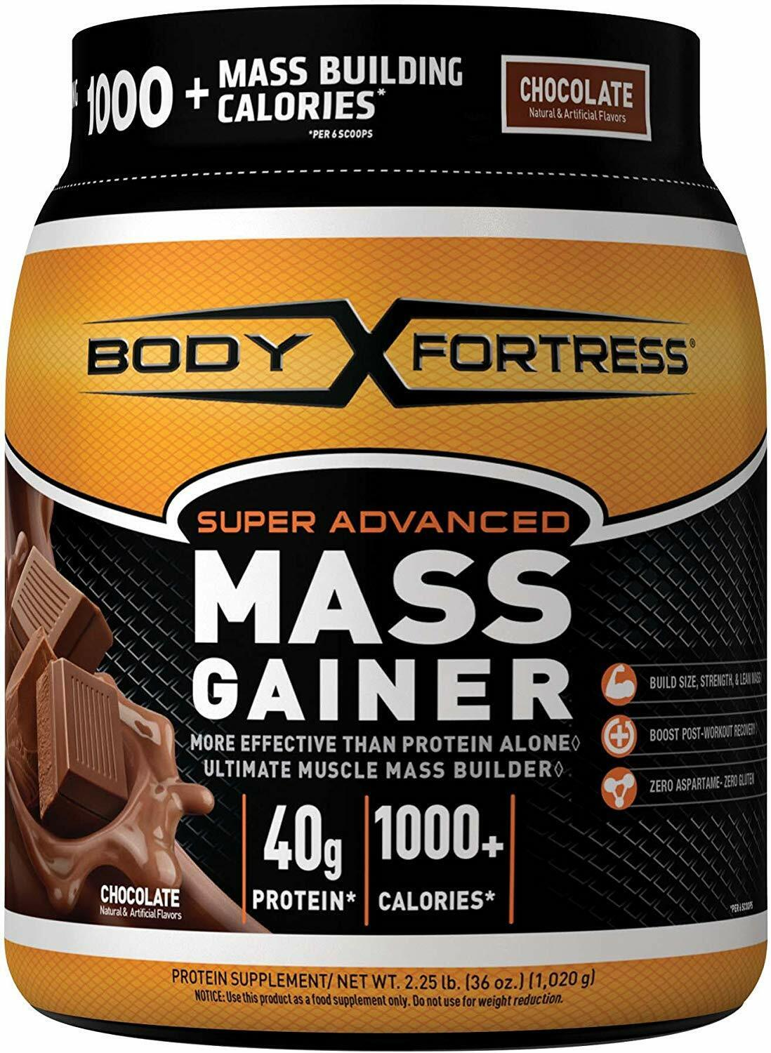Super Mass Weight Gainer Chocolate Whey Protein Powder Muscl