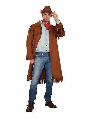 Western Outlaw Costume (Rifleman Cowboy Western Outlaw Sheriff Fancy Dress Up Halloween Adult)