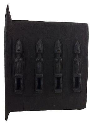 Door Dogon Attic in Mil Mali 38x 28 cm - Flap Case - 450w Art African - 1224
