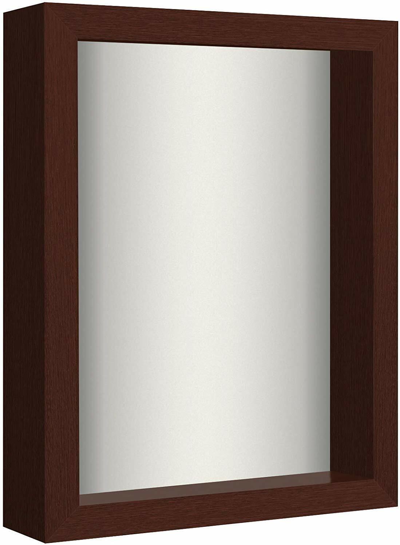 8×10 Shadow Box Frame with Soft Linen Back – Display Memorabilia Frames