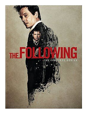 The Following: The Complete Series Seasons 1-3 (DVD,2015, 12-Disc Set) 1 2 3 New