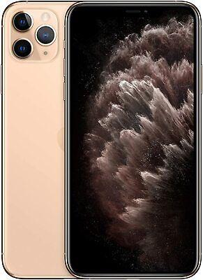 Apple iPhone 11 Pro Max 256GB Gold Verizon AT&T T-Mobile Unlocked Smartphone