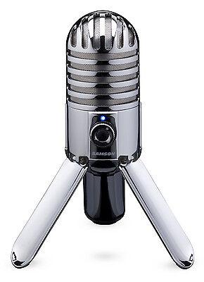 Samson Meteor Mic USB Studio Microphone, Large Diaphragm,