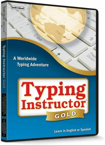 Typing Instructor Gold PC Windows NEW!