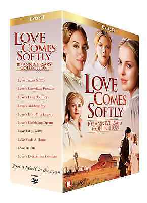 Love Comes Softly  Complete Christian Hallmark 10 Movie Series Boxed Dvd Set New