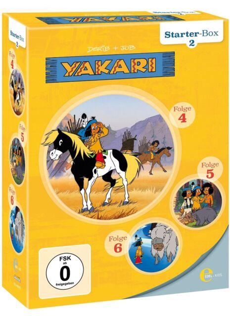 YAKARI - (2)STARTER-BOX 3 DVD NEU