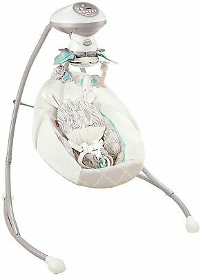 Fisher-Price Cradle 'n Swing in Safari Dreams