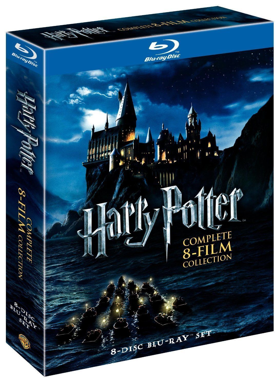Harry Potter Complete (Blu-ray 8-Disc Set)