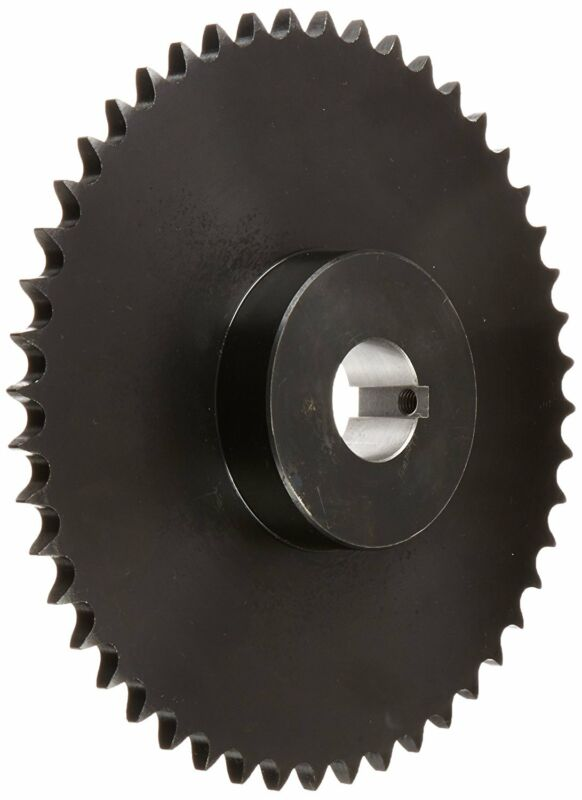 Browning 5048X 1 1/2 Finished Bore Roller Chain Sprocket, Steel, 48 Teeth