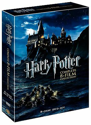 Harry Potter  Complete 8 Film Collection  Dvd  2011  8 Disc Set