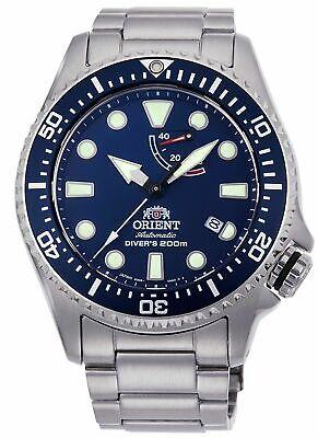 Orient Men's RA-EL0002L 'Triton' Stainless Steel Watch
