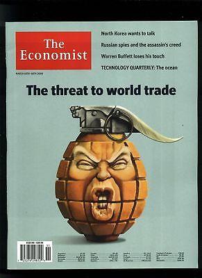 - The Economist Magazine 10 MARCH 2018 Threat to World Trade NO LABEL