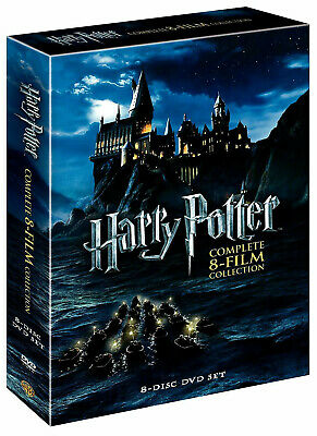 Harry Potter: Complete 8-Film Collection, DVD,8-Disc Set! NEW SEALED..