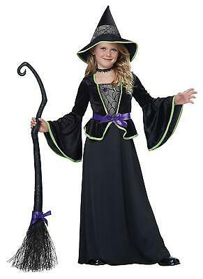 California Costumes Classic Witch Child Costum Size Large (10-12) NEW