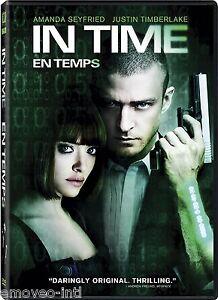 IN TIME (JUSTIN TIMBERLAKE) *NEW DVD*