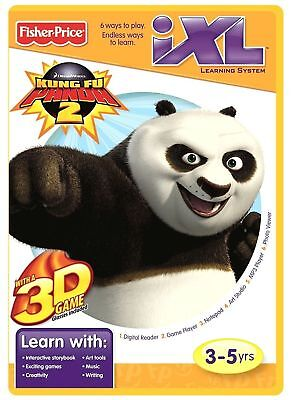 Fisher-Price iXL Kung Fu Panda 3 NEW Learning System 3D Game