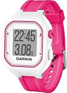 Garmin-Forerunner-25-GPS-Sports-Running-Watch-Smart-Notifications-Pink-amp-White