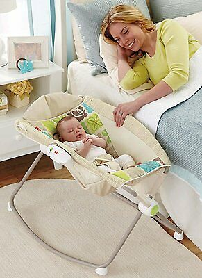 Basket Rocking Baby Sleeper Bassinet Cradle Newborn Infant Crib Bed Nursery