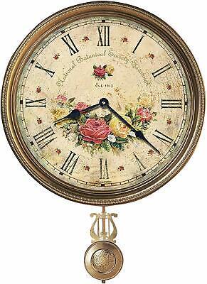 Howard Miller Savannah Botanical VII Wall Clock 620-440 – Quartz Movement