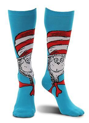 Cat in the Hat Socks Dr. Seuss Fancy Dress Halloween Adult Costume Accessory