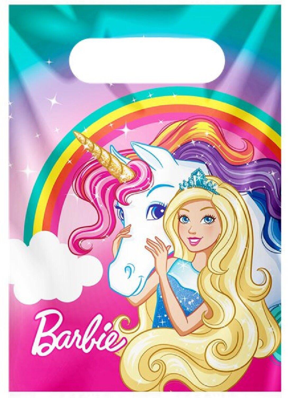 Girls birthday party barbie dreamtopia rainbow unicorn - Barbie licorne ...