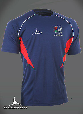 England Rugby vs New Zealand Perfect Day Flux T Shirt Sizes Y-XXXL