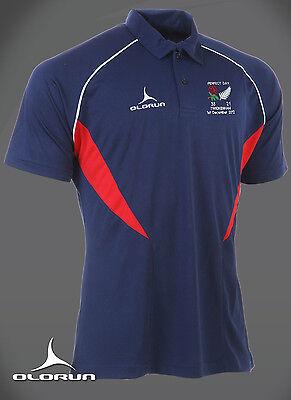 England Rugby vsNew Zealand Perfect Day Polo Shirt  Asstd Sizes Y-XXXL