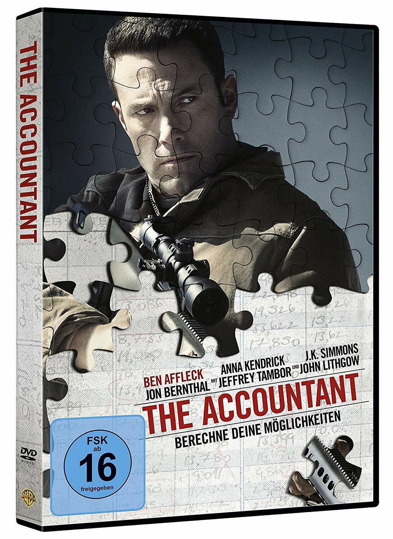 The Accountant - DVD / Blu-ray - *NEU*
