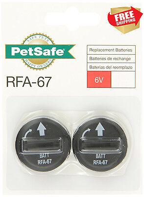6 Volt Battery Replacement For PetSafe Wireless Fence Receiver Bark Collar 2 Pcs