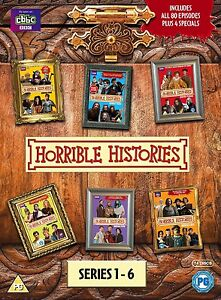 Horrible Histories The Complete Series Seasons 1, 2, 3, 4, 5 & 6 DVD Box Set New