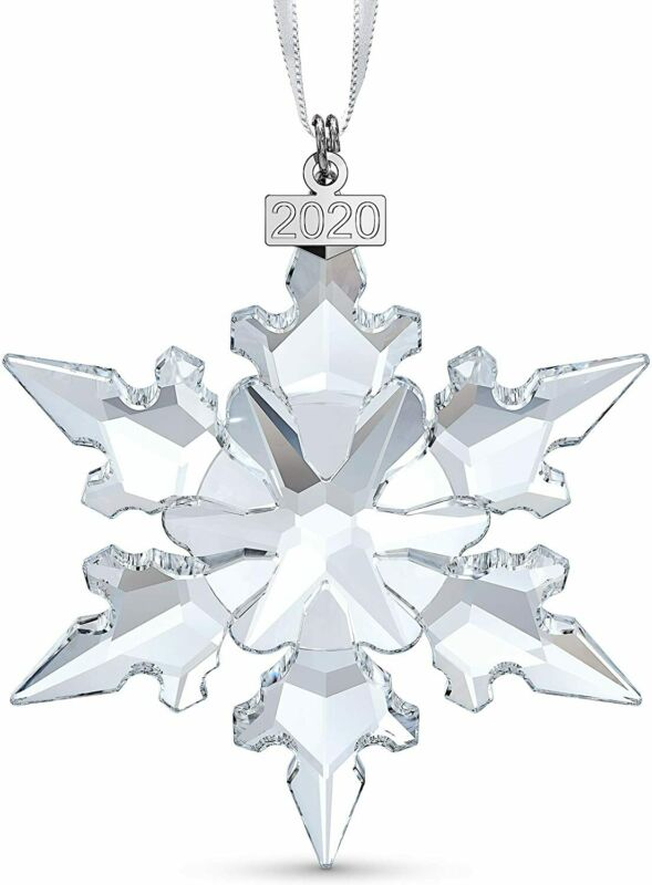 SWOKI Crystal Large Annual Edition Christmas Ornament 2020 Snowflake 5511041