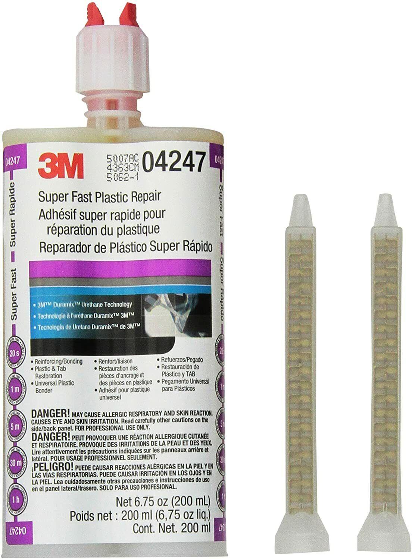 3M 4247 Super Fast Plastic Repair 200mL Urethane Adhesive Material Bonding 04247