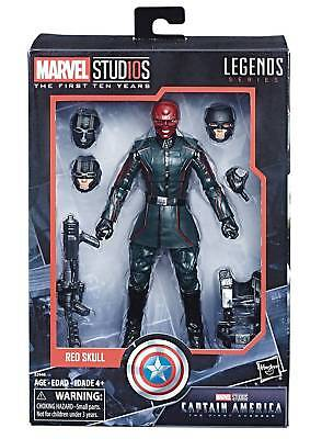 RED SKULL 6 inch figure HASBRO MARVEL Legends MCU 10TH Anniversary NEW!