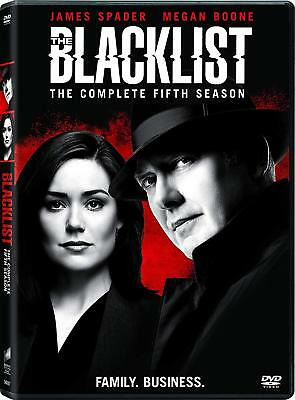 The Blacklist: Season 5 Fifth (DVD, 2018, 5-Disc Set), NEW, 1st Class Shipping.