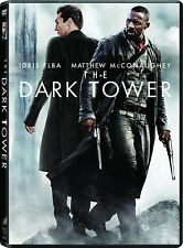 The Dark Tower (DVD, 2017) Matthew McConaughey & Idris Elba