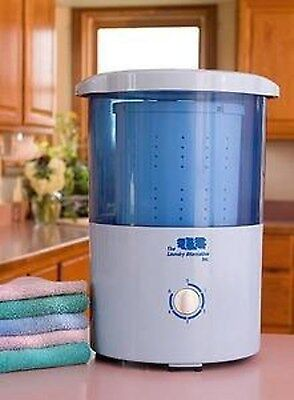 غسالة ملابس جديد The Laundry Alternative Mini Countertop Spin Dryer Clothes Spin Dryer Portabl…