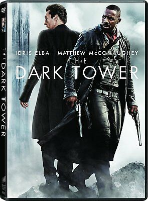 The Dark Tower  Dvd  2017 Idris Elba  Matthew Mcconaughey  Abbey Lee Jeans Movie