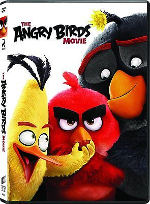 The Angry Birds Movie DVD Josh Gad, Jason Sudeikis