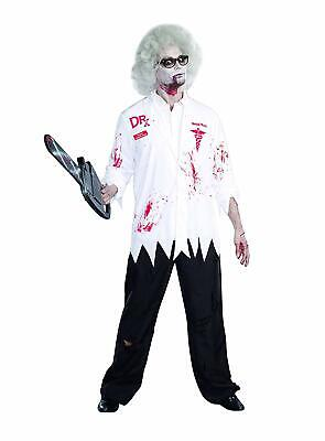 Graveyard Zombie Costume (Dr. Hugh B Dead Zombie Mens Costume Dreamguy 9902 Size XL Working the Graveyard)