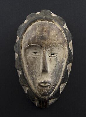 Masquette Grade Mask African Fang Ngon Ntang Gabon 15cm Art First 16768