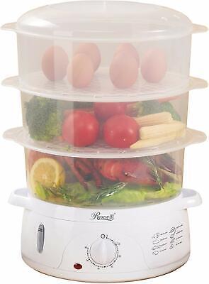Rosewill Electric Food Steamer 9.5 Quart, Vegetable Steamer