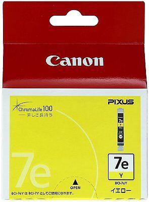 Canon BCI-7EY Yellow Ink Cartridge 0367B001[AA] Genuine /Expiration