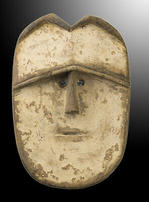 Mask Pasport Diminutive African Vuvi Gabon Wood 13cm Art First 16701