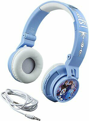 eKids Frozen 2 Wireless Bluetooth Portable Kids Headphones with Microphone,...