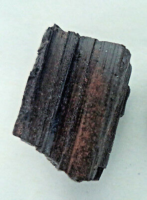 1 Large Rough Black Tourmaline Regular Grade Natural Raw Crystal Protection