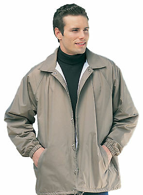 - Tri-Mountain Men's Big And Tall Flannel Lining Coach Jacket. 1500-Tall