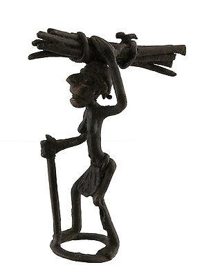 Figure, Figure African Bronze, Old - Bundle-Art African-Af 1097