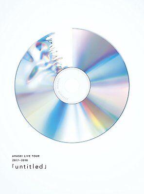 ARASHI LIVE TOUR 2017-2018 untitled First Limited Edition DVD Photobooklet Japan